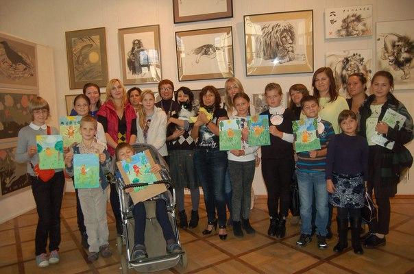 рисование в инклюзивной среде. рисуют дети инвалиды