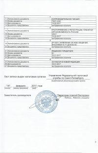 лист записи 17.1